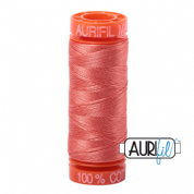 Aurifil 50 Cotton Thread - 2225 (Salmon)